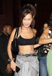 Bella Hadid at Jesse Jo Stark Concert in West Hollywood