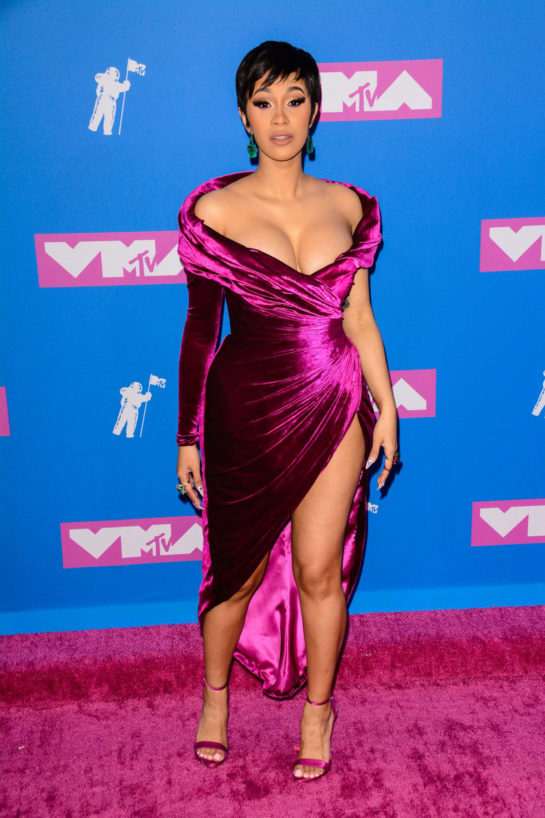 Cardi B. at MTV Video Music Awards in New York