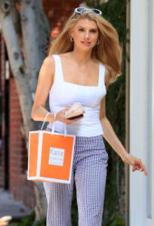 Charlotte McKinney Leaves Kate Somerville in West Hollywood