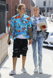 Hailey Baldwin and Justin Bieber Out in Beverly Hills