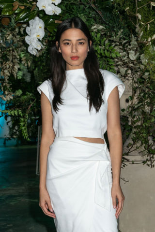 Jessica Gomes at David Jones Spring Summer 2018 Fashion Show in Sydney