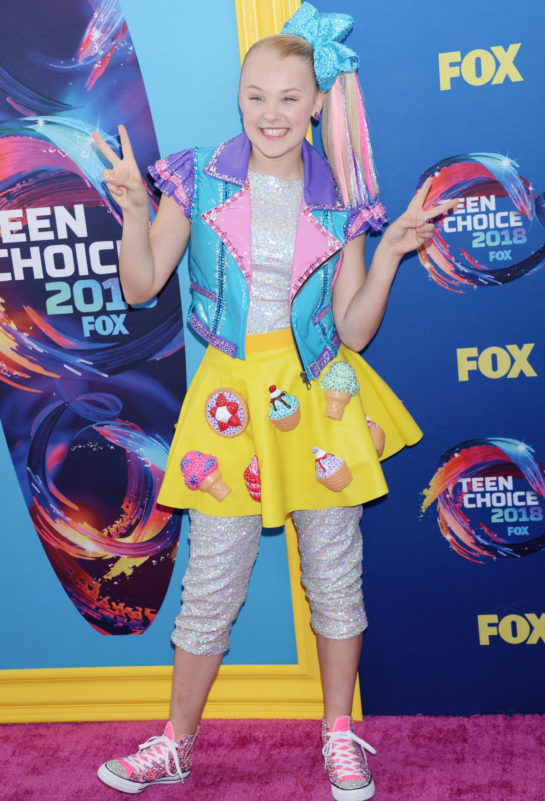 JoJo Siwa at 2018 Teen Choice Awards in Beverly Hills