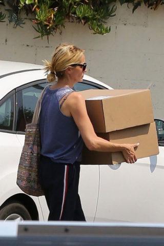 Julia Roberts Leaving a Gym in Malibu