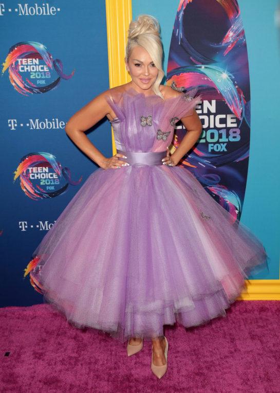 Kandee Johnson at 2018 Teen Choice Awards
