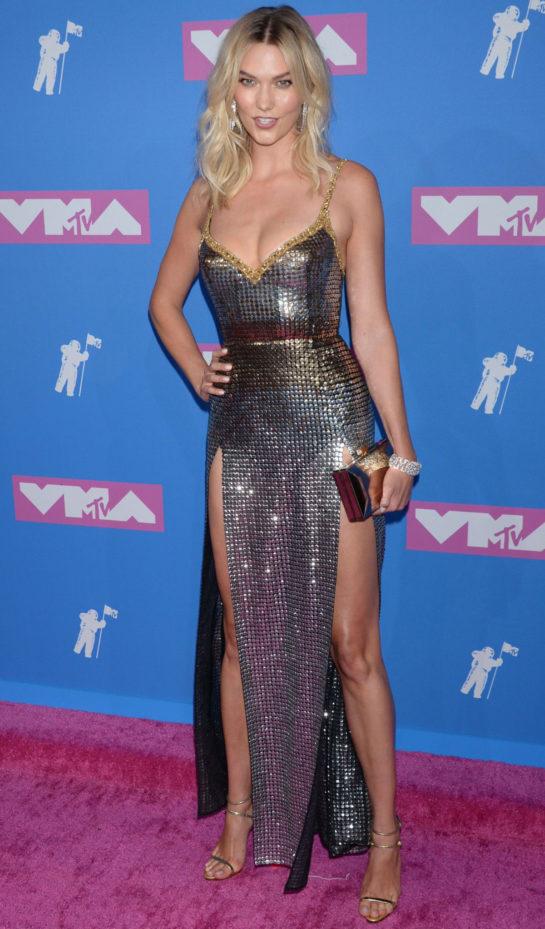Karlie Kloss at MTV Video Music Awards in New York