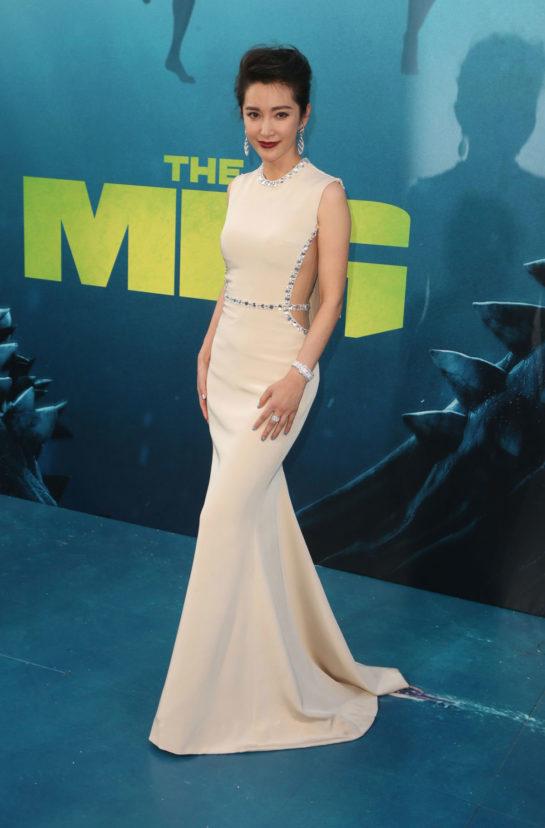 Li Bingbing at The Meg Premiere in Hollywood