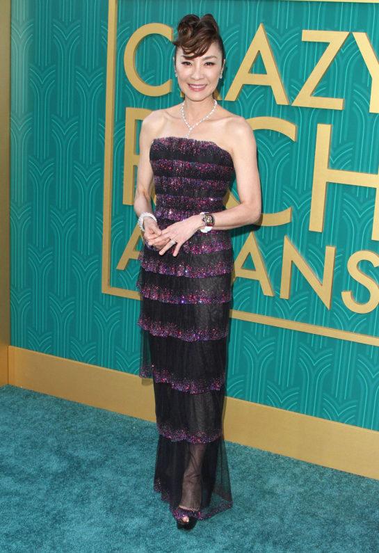 "Michelle Yeoh at ""Crazy Rich Asians"" Premiere in LA"