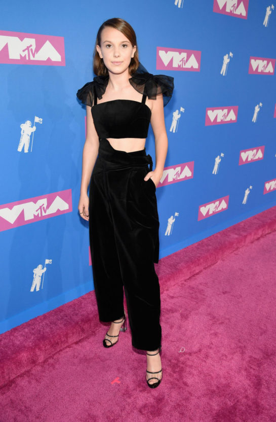 Millie Bobby Brown at MTV Video Music Awards in New York