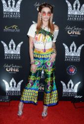 Paris Jackson at Michael Jackson Diamond Birthday Celebration in Las Vegas