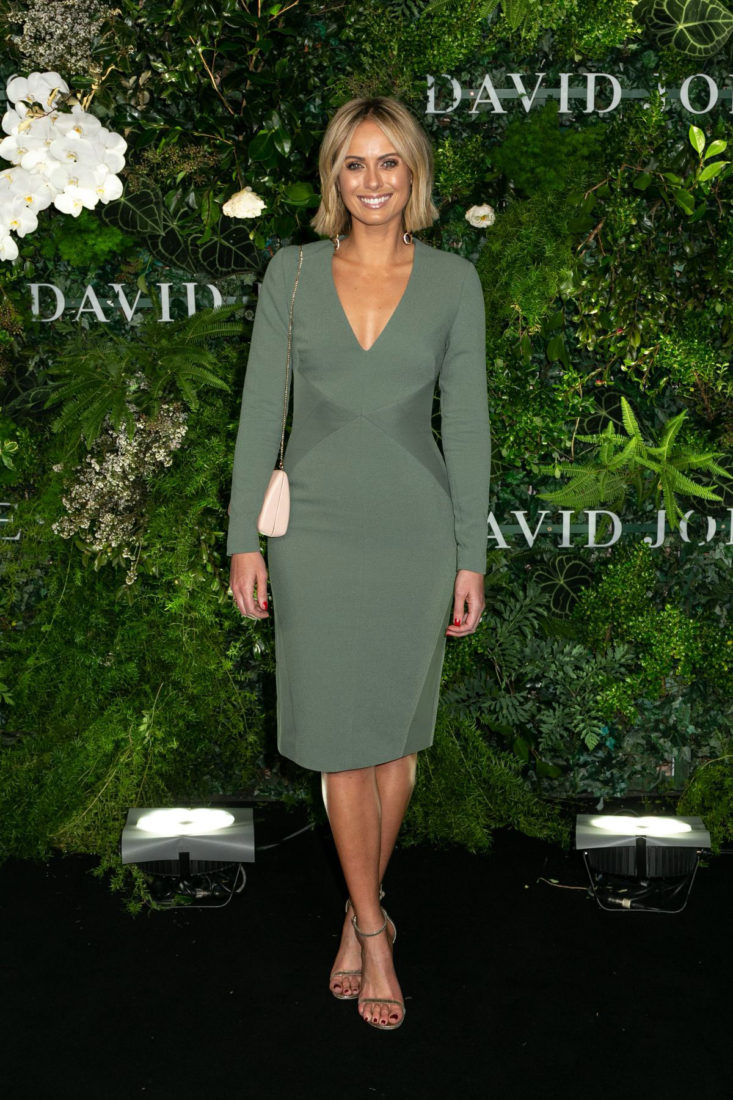 Sylvia Jeffreys at David Jones Spring Summer 2018 Fashion Show in Sydney