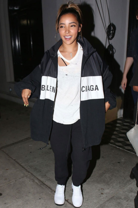 Tinashe at Craig's in West Hollywood