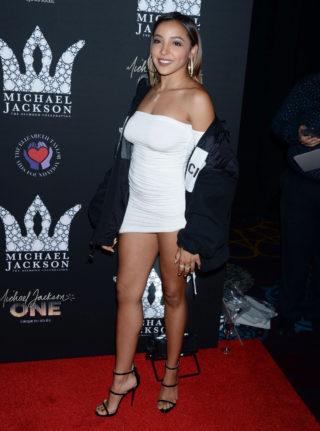 Tinashe at Michael Jackson Diamond Birthday Celebration in Las Vegas