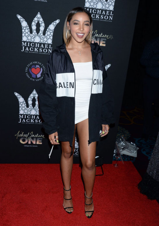 Tinashe at Michael Jackson Diamond Birthday Celebration in Las Vegas