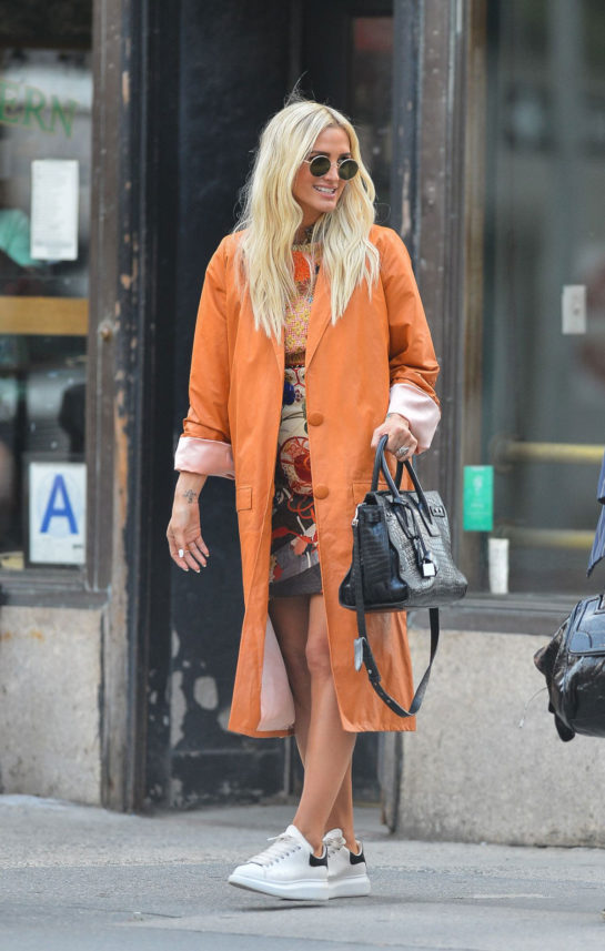 Ashlee Simpson Out in NYC
