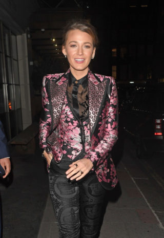 Blake Lively Night Out in London