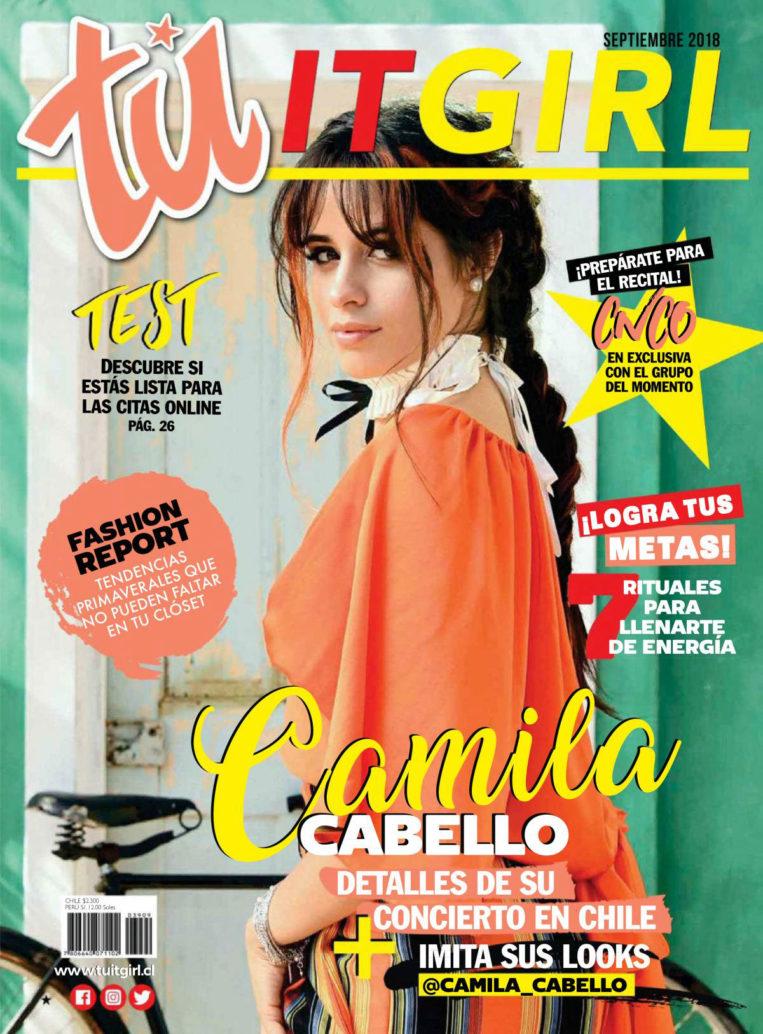 Camila Cabello in Tu Chile Magazine (September 2018)