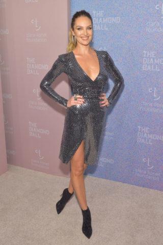 Candice Swanepoel at Rihanna's 2018 Diamond Ball in New York