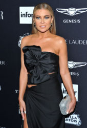 Carmen Electra at Harper's Bazaar ICONS Fashion Week event in New York