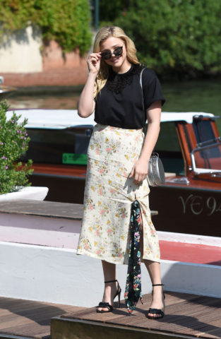 Chloë Grace Moretz Out and About in Venice