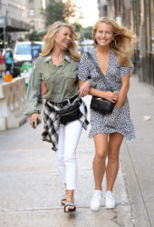 Christie and Sailor Brinkley Out in New York