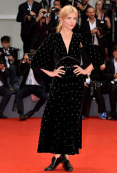 Clémence Poésy at A Star is Born Premiere at 2018 Venice International Film Festival