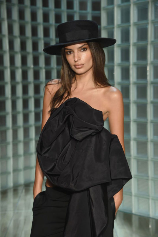 Emily Ratajkowski at Marc Jacobs Fashion Show in New York