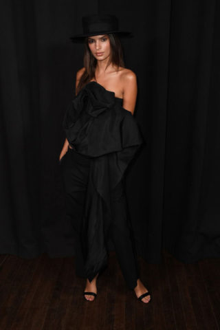 Emily Ratajkowski at Marc Jacobs Fashion Show in New York