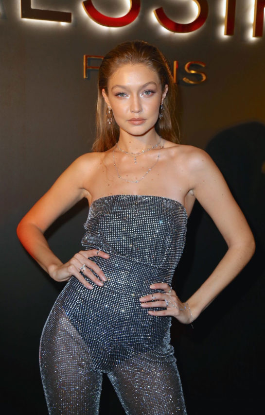 Gigi Hadid at Messika by Gigi Hadid My Soul Jewelry Collection Launch in New York
