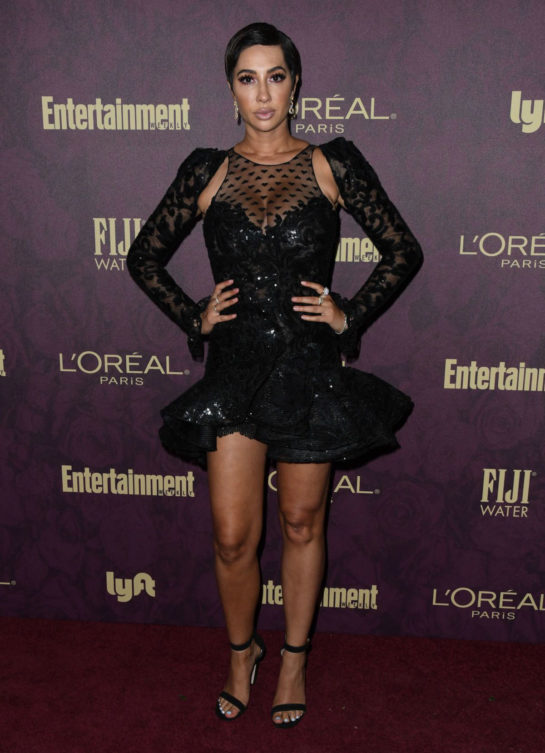 Jackie Cruz at EW and L'Oreal Paris Pre-Emmy Party in Hollywood