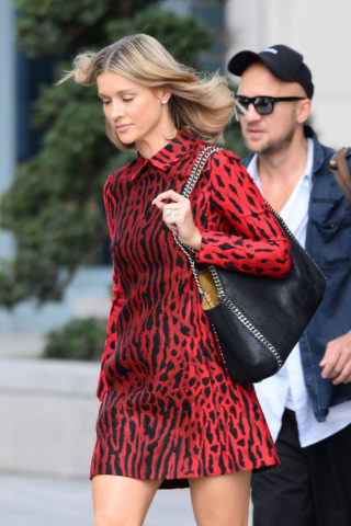 Joanna Krupa Out and About in Warsaw