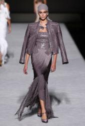 Kaia Gerber at Tom Ford Runway Show at New York Fashion Week