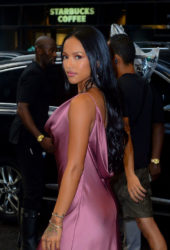 Karrueche Tran at Daily Front Row's Fashion Media Awards in New York