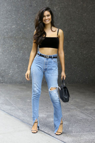 Kate Li at Casting Call for the Victoria's Secret Fashion Show 2018 in New York