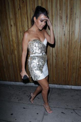 Kourtney Kardashian at Nice Guy in Los Angeles