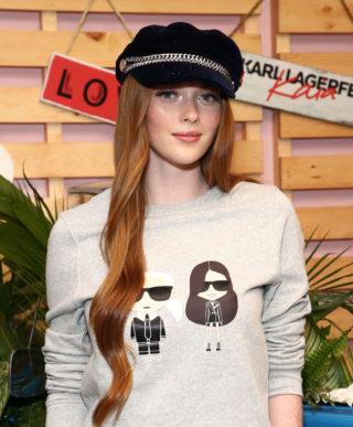 Larsen Thompson at Karl Lagerfeld x Revolve Launch in LA