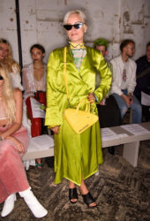Lily Allen at Fashion East Fashion Show in London