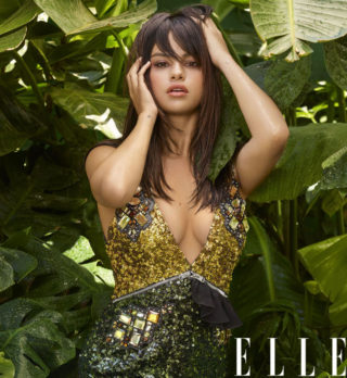 Magazine Covers - Selena Gomez for Elle Magazine (October 2018)