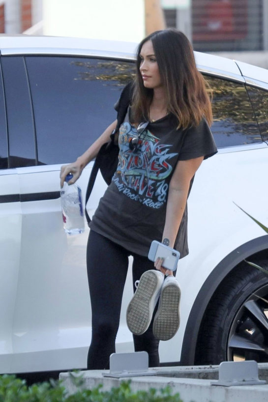Megan Fox Out and About in Culver City