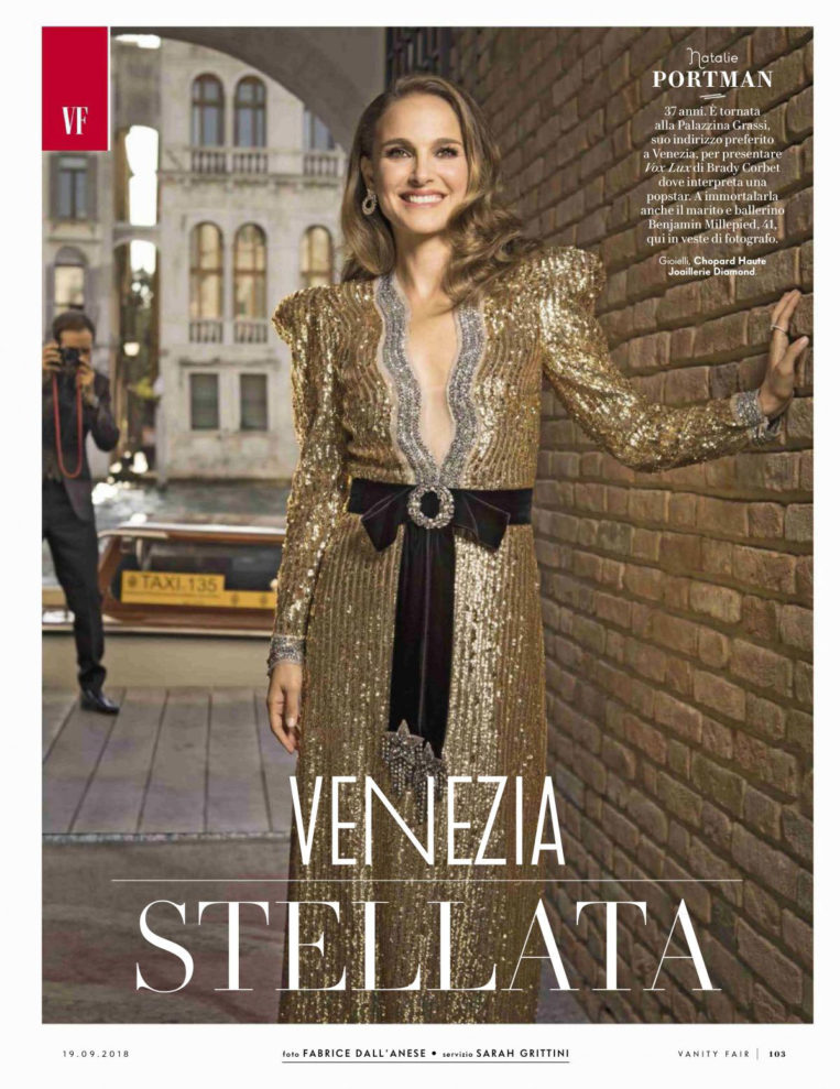 Natalie Portman in Vanity Fair Magazine (Italy September 2018)