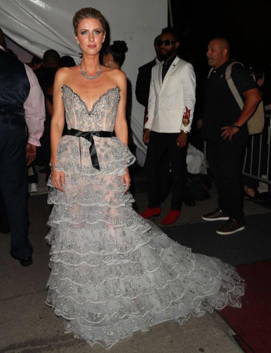 Nicky Hilton at Rihanna's 2018 Diamond Ball in New York