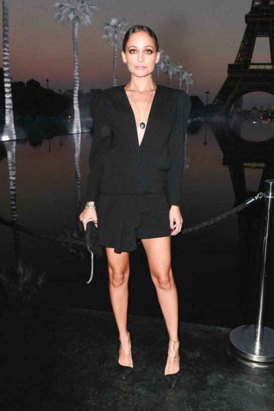 Nicole Richie at Saint Laurent Show at Paris Fashion WeekNicole Richie at Saint Laurent Show at Paris Fashion Week