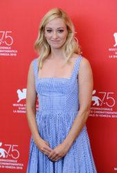 Olivia Hamilton at First Man Premiere at Venice Film Festival