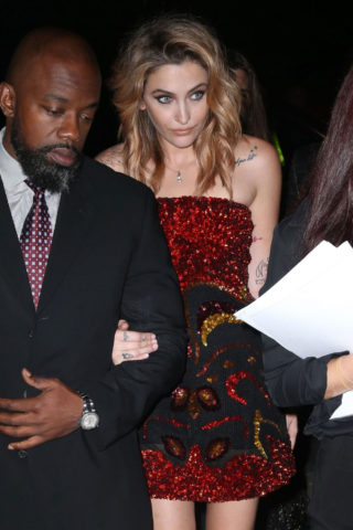 Paris Jackson at Tom Ford Fashion Show in New York