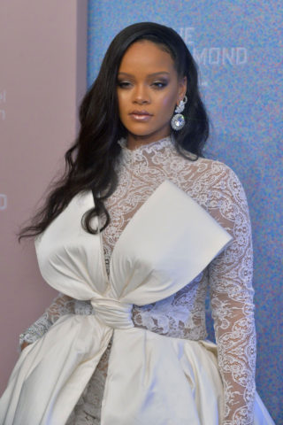 Rihanna at Rihanna's 2018 Diamond Ball in New York