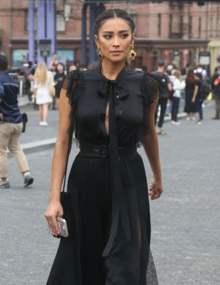 Shay Mitchell Out at New York Fashion Week