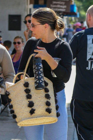 Sophia Bush at Farmers Market in LA