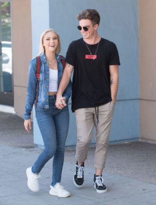 Street Style - Jordyn Jones Out and About in Los Angeles