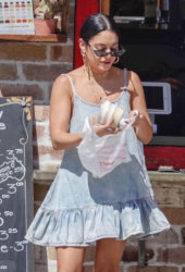Vanessa Hudgens Out for a Coffee in LA