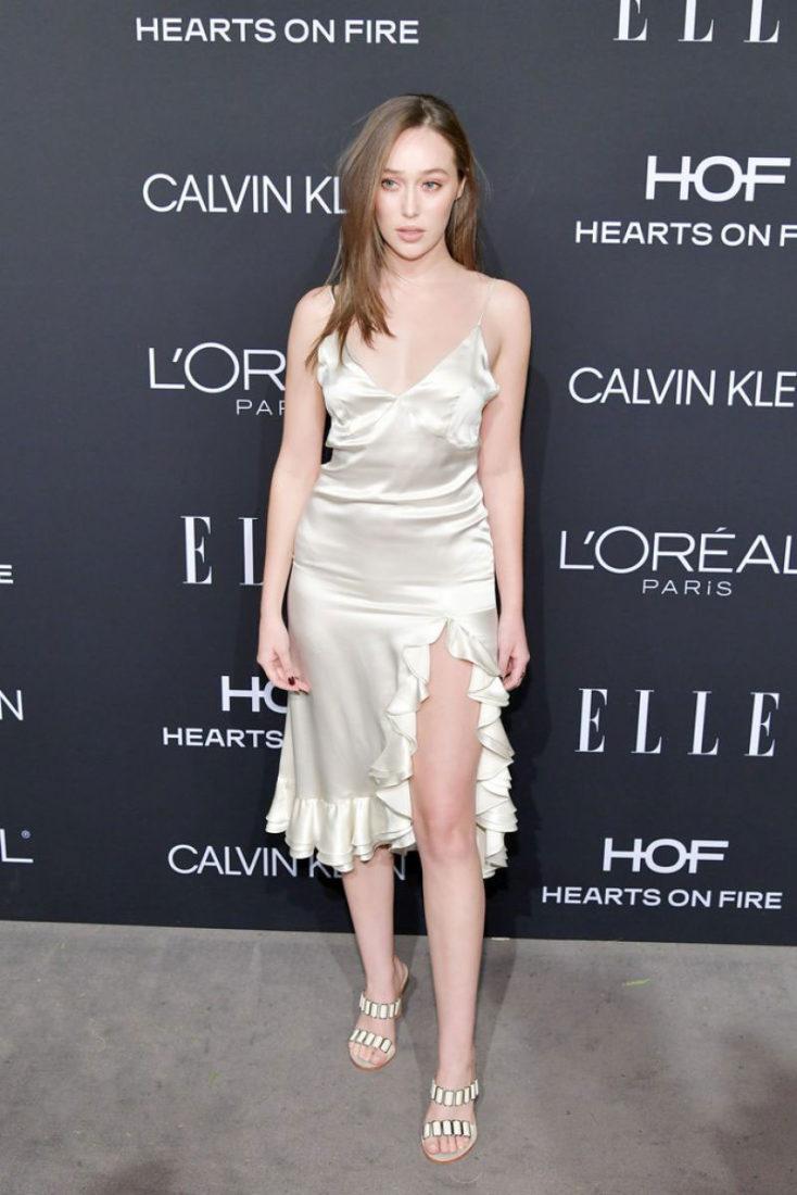 Alycia Debnam-Carey at ELLE Women in Hollywood in Los Angeles