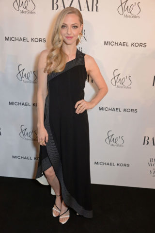 Amanda Seyfried at Harper's Bazaar Women of the Year Awards in London